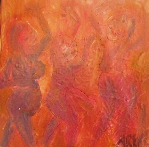 Ani Rose Painting Let them Dance