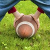 iStock football child