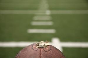iStock football on field