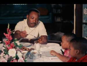 MLK with family