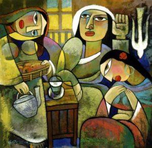 Mary and Martha He Qi
