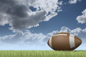iStock football and sky